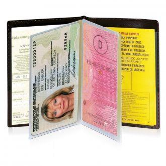 WERBETIPP 100 x Ausweistaschen inklusive einfarbigem Werbedruck