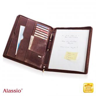 ALASSIO Schreibmappe A4 Monaco