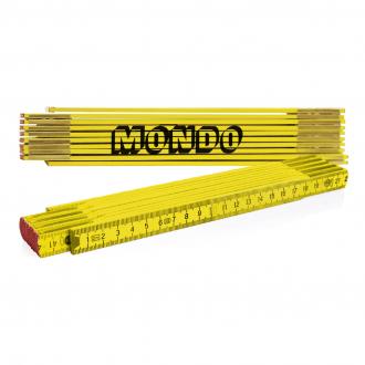Werbetipp: 80 Zollst. 2m gelb inkl. einfarbigem Werbedruck