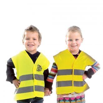 Kinder-Warnweste gelb