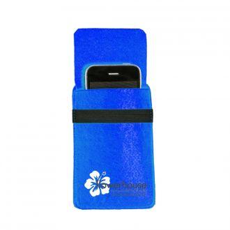 Filz-Handytasche blau