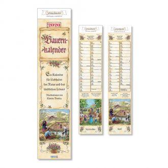 Bauern Streifenkalender