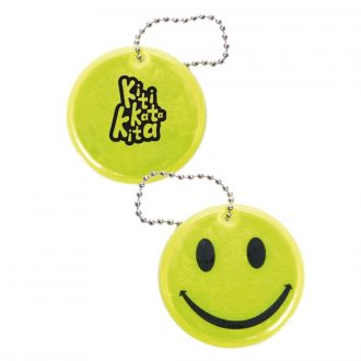Anhänger Smiley gelb