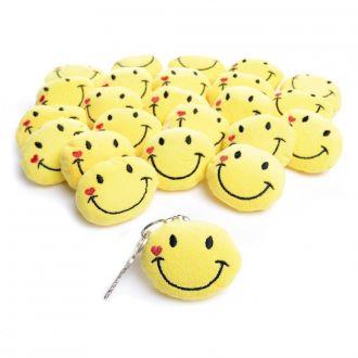 Smile Kissen-Schlüsselanhänger 24er Set