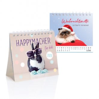Mini-Tischkalender 2020 Happy-Macher