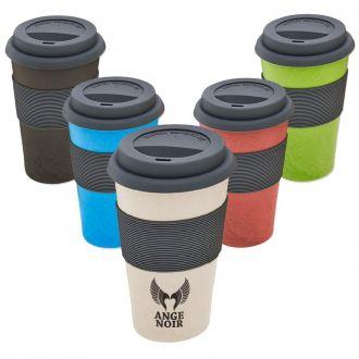 NATUR DESIGN Kaffee-Becher Eco aus Bambusfaser, 250 ml