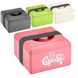 NATUR DESIGN Lunchbox Eco eckig aus Bambusfaser