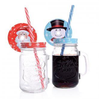 Trinkglas Weihnachten 2er Set