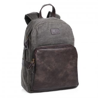 PRIDE & SOUL Rucksack Canvas/Lederlook