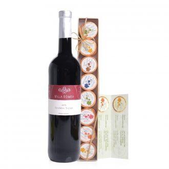 Chocolate for wine Geschenkset