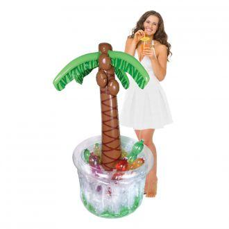 Getränkekühler Palme aufblasbar