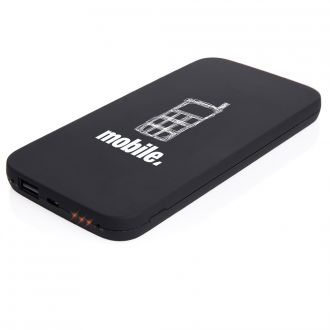 Powerbank 6.000 mAh mit Wireless Charger