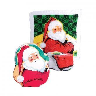 Magisches Handtuch Weihnachtsmann 4er Set
