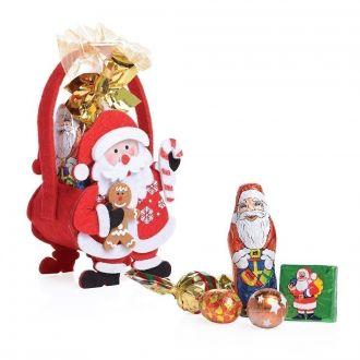 Filz Tasche Weihnachtsmann inkl Füllung