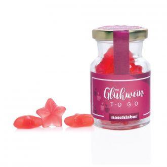 Glühwein to go  Glas 120g Fruchtgummi