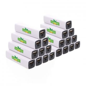 WERBESET 20 x Powerbanks 2.200mAh inklusive 4C Digitaldruck