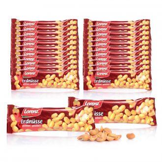 LORENZ 28er Set Erdnüsse im Riegelformat je 40g, Lieferung im 1kg Dispenser