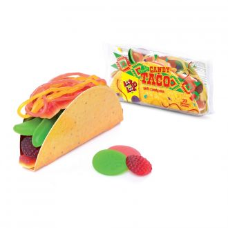 LOOK-O-LOOK Candy Taco 115g Gummibonbons Mix