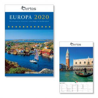 Werbetipp: 100 Bild-Kalender Europa inkl. 1-farb. Druck