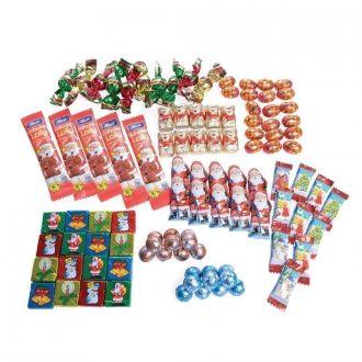 Weihnachts-Süßwaren 100 Stück