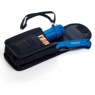 Taschenmesser Set mit LED Taschenlampe, inkl. Batterien