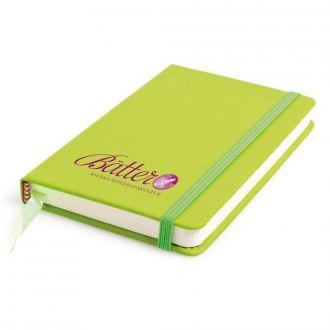 Notizbuch Pocket DIN A6 mit 100 Seiten und Gummiverschluss