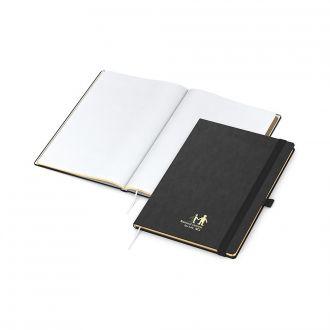 COMPLETE Gold Book Notizbuch DIN A4 inklusive Prägung, 192 Seiten