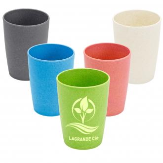 NATUR DESIGN Trinkbecher Eco aus Bambusfaser, 200 ml