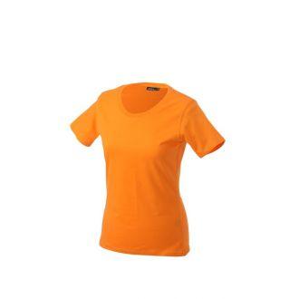 JAMES & NICHOLSON Ladies Basic-T Orange