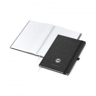 COMPLETE Silver Book Notizbuch DIN A4 inklusive Prägung, 192 Seiten