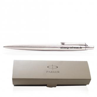 PARKER Metallkugelschreiber Jotter aus Edelstahl im Geschenk-Etui