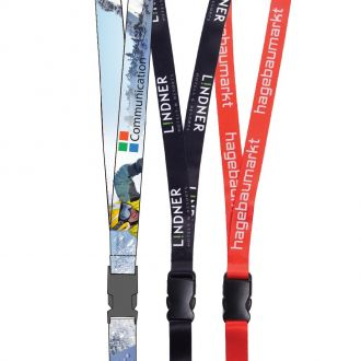 REFLECTS Lanyards mit 2 seitigem Digitaldruck