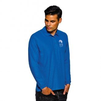 FRUIT OF THE LOOM New Premium Longsleeve Polo Shirt  Farbig