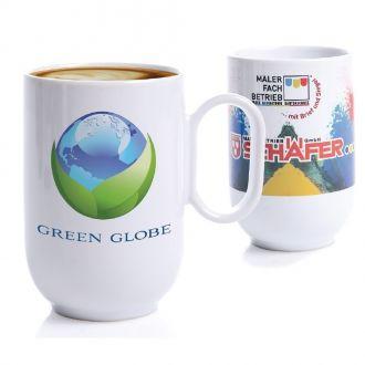 SENATOR Kaffeetasse Pics Sweep inklusive Sublimationsdruck, 250 ml