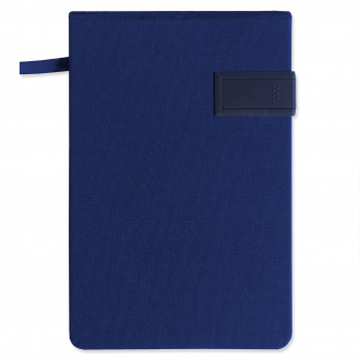 Notizbuch blau + 4GB USB Stick small size