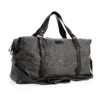 PRIDE & SOUL Reisetasche Canvas/Lederlook