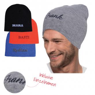MYRTLE BEACH Mütze Beanie inklusive Einzelnamen-Stickerei