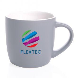 Keramik-Kaffeetasse Handy Cool  mit weißen Kontrasten, 300 ml