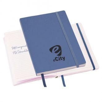 DIN A5 Notizbuch Story-Teller mit flexiblem PU-Umschlag, 80 Seiten