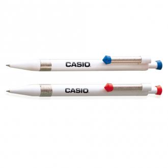 RITTER Druckkugelschreiber Spring mit flexiblem Metall-Clip