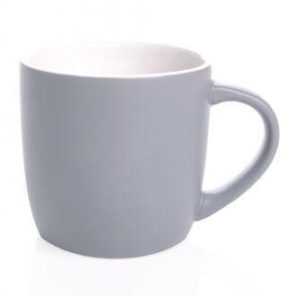 Keramik-Kaffeetasse Handy Cool mit weißen Kontrasten, neutral, 300 ml