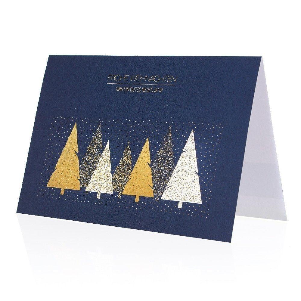 Weihnachtskarten Mit Kugelschreiber.Weihnachtskarte Soft Touch Mit Werbedruck
