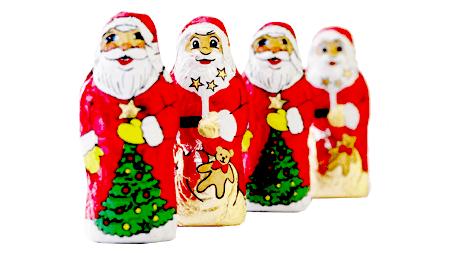 Der Nikolaus kommt – und oft ist er aus Schokolade