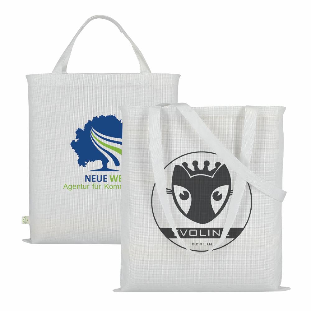 Einkaufstaschen aus rPET